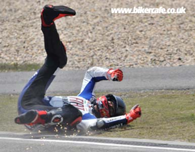 Jorge Lorenzo Crash